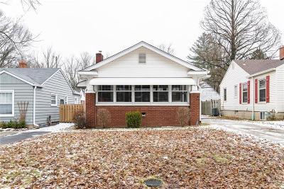 Indianapolis Single Family Home For Sale: 5927 Primrose Avenue