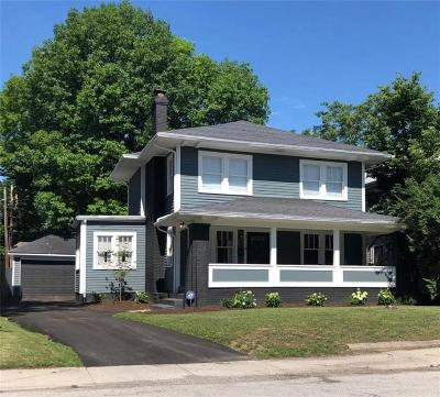 Indianapolis Single Family Home For Sale: 3714 Central Avenue