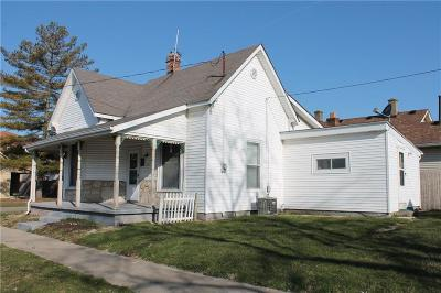 Shelbyville Single Family Home For Sale: 712 Webster Street