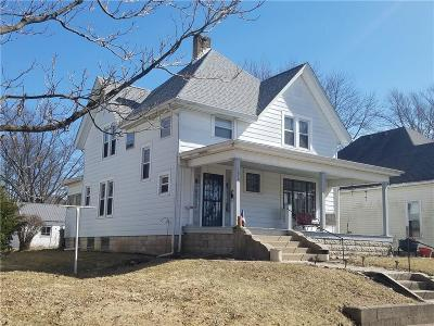 Rushville Single Family Home For Sale: 1030 North Harrison Street