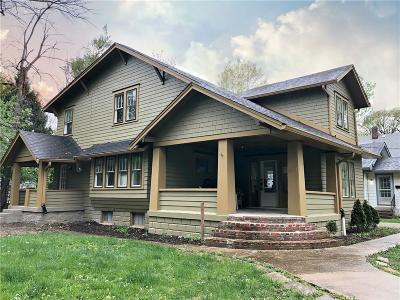 Indianapolis Single Family Home For Sale: 5901 University Avenue