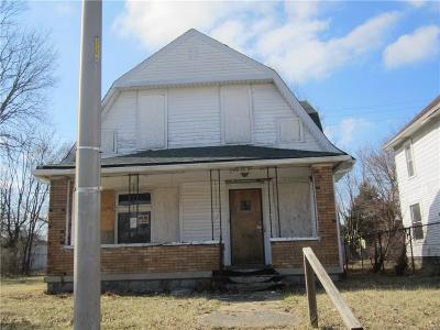 Indianapolis Single Family Home For Sale: 3718 North Capitol Avenue