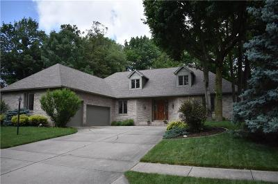 Indianapolis Single Family Home For Auction: 7612 Freedom Woods Drive
