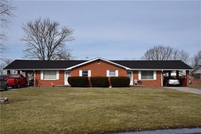 Martinsville Multi Family Home For Sale: 9460/9470 Huggin Hollow Road