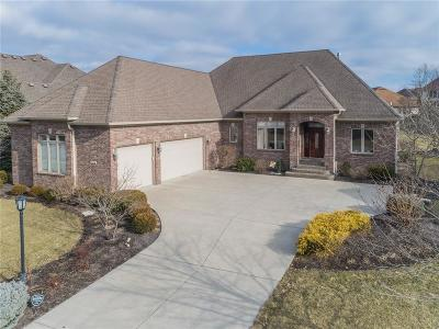 Fishers Single Family Home For Sale: 10858 Harbor Bay Drive