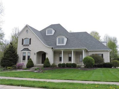 Avon Single Family Home For Sale: 4681 Parkstone Lane