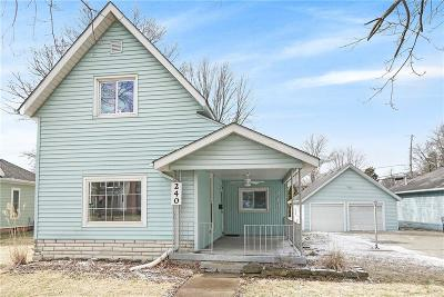 Pendleton Single Family Home For Sale: 240 South Pendleton Avenue