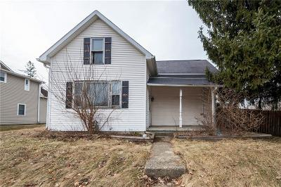 Greenfield IN Single Family Home For Auction: $49,500