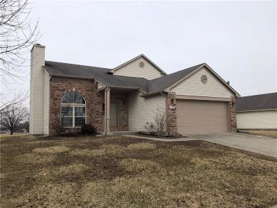 Indianapolis Single Family Home For Sale: 2338 Valley Creek West Lane