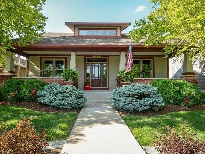 Zionsville Single Family Home For Sale: 7636 The Commons