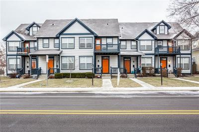 Indianapolis Condo/Townhouse For Sale: 2357 North Central Avenue