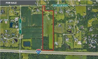 Zionsville Residential Lots & Land For Sale: 8857 Hunt Club