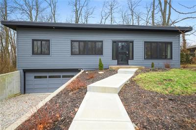 Indianapolis Single Family Home For Sale: 6070 Orchard Hill Lane