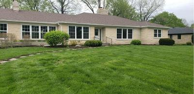 Indianapolis Single Family Home For Sale: 7474 North Meridian Street