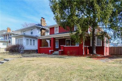 Indianapolis Single Family Home For Sale: 3837 North Central Avenue