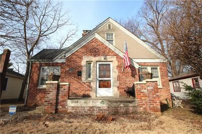 Indianapolis Single Family Home For Sale: 6468 North Park Avenue