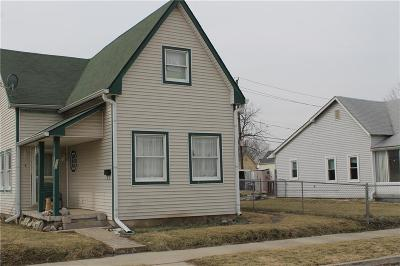 Indianapolis Single Family Home For Sale: 202 North Reisner Street