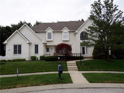 Zionsville Single Family Home For Sale: 4770 Khaki Court