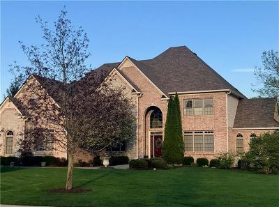Zionsville Single Family Home For Sale: 11519 Willow Ridge Drive