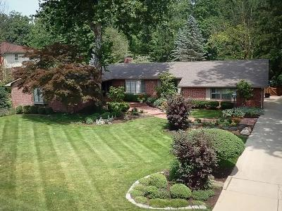 Indianapolis Single Family Home For Sale: 6717 Creekside Lane