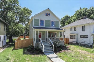 Indianapolis Single Family Home For Sale: 1123 North Keystone Avenue N