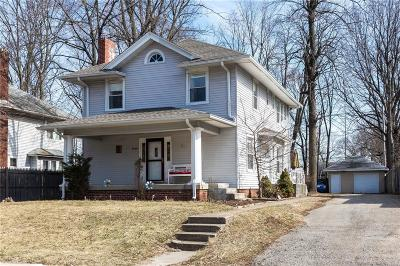 Indianapolis Single Family Home For Sale: 4159 Guilford Avenue
