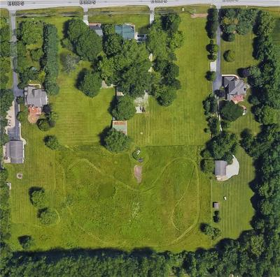 Zionsville Residential Lots & Land For Sale: 11301 East 300 South