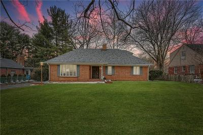 Indianapolis Single Family Home For Auction: 717 East 70th Place