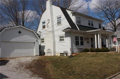 Greencastle IN Single Family Home For Sale: $166,000