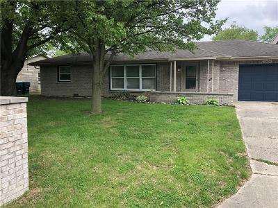 Delaware County Single Family Home For Sale: 4604 North Janney Avenue