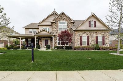 Zionsville Single Family Home For Sale: 2724 Still Creek Drive