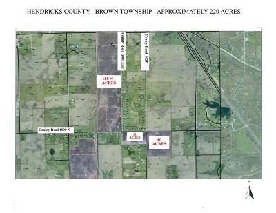 Brownsburg Commercial Lots & Land For Sale: 10182 North County Road 1000 E Road