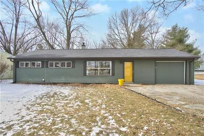 Carmel Single Family Home For Sale: 710 West Auman Drive