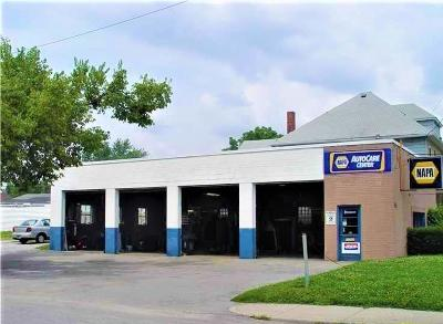 Indianapolis Commercial For Sale: 1368 South Belmont Avenue