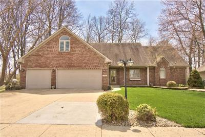 Plainfield Single Family Home For Sale: 7591 Williamsburg Drive