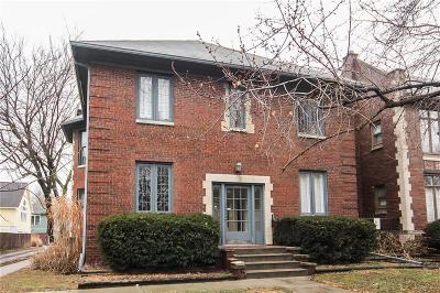 Indianapolis Condo/Townhouse For Sale: 1404 Broadway Street #E