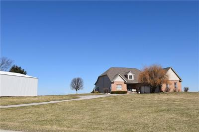 Clinton County Single Family Home For Sale: 9778 East County Road 600 S