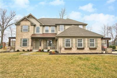 Fishers Single Family Home For Sale: 10117 Oak Haven Drive