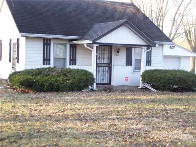 Indianapolis Single Family Home For Sale: 317 West Stop 11 Road