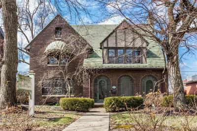 Indianapolis Single Family Home For Sale: 3650 Washington Boulevard