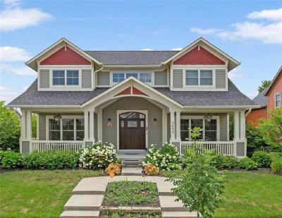 Zionsville Single Family Home For Sale: 7649 Cambridge Lane