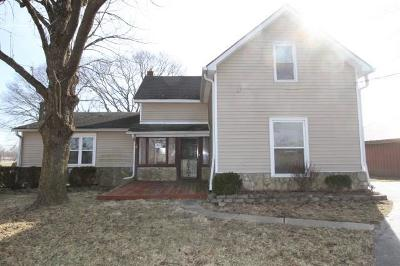 Greenfield IN Single Family Home For Sale: $99,000