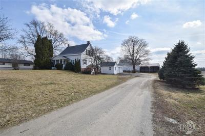 Delaware County Single Family Home For Sale: 911 West County Road 600 S
