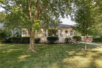 Indianapolis Single Family Home For Sale: 6640 Broadway Street