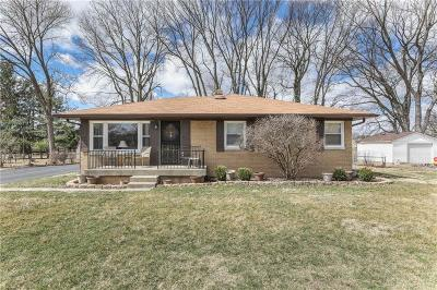 Indianapolis Single Family Home For Sale: 3468 Mount Vernon Place