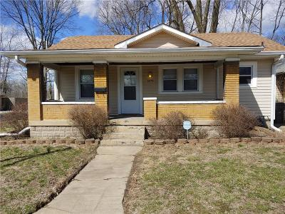 Indianapolis Single Family Home For Sale: 3674 Creston Drive