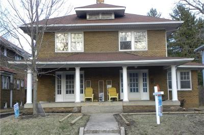 Indianapolis Single Family Home For Sale: 4055 Central Avenue