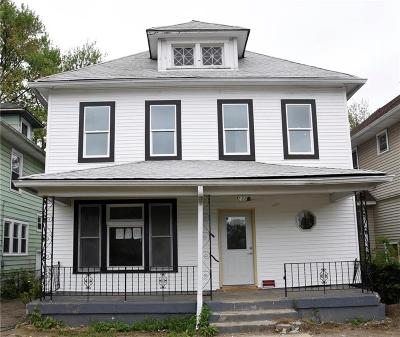 Indianapolis Single Family Home For Sale: 2324 North Capitol Avenue