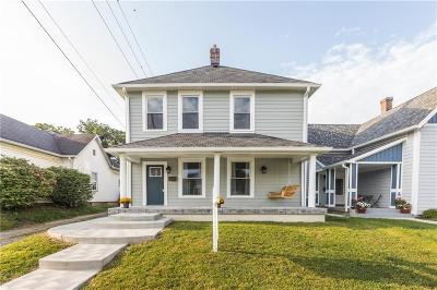 Indianapolis Single Family Home For Sale: 625 Weghorst Street