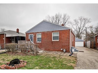 Irvington Single Family Home For Sale: 401 South Sheridan Avenue